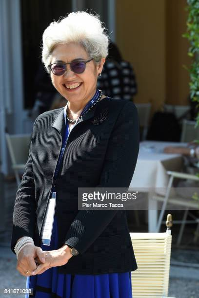 Fu Ying vice minister of the Foreign Ministry of the People's Republic of China attends the Ambrosetti International Economic Forum on September 1...