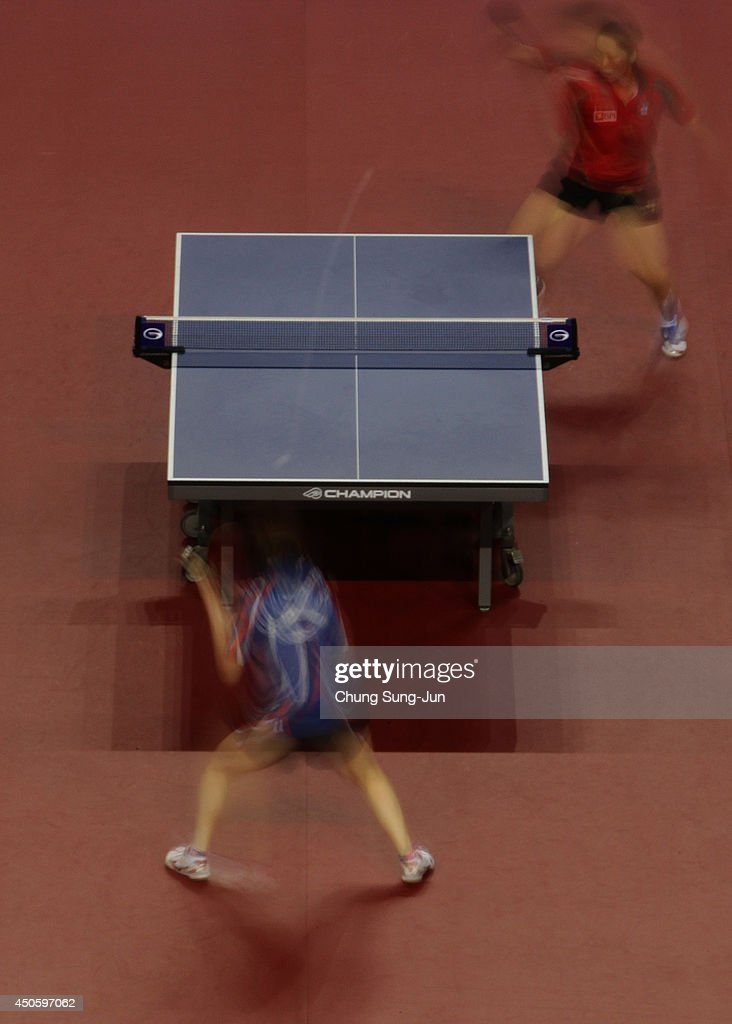 Table Tennis World Tour Korea Open In Incheon - Day 4