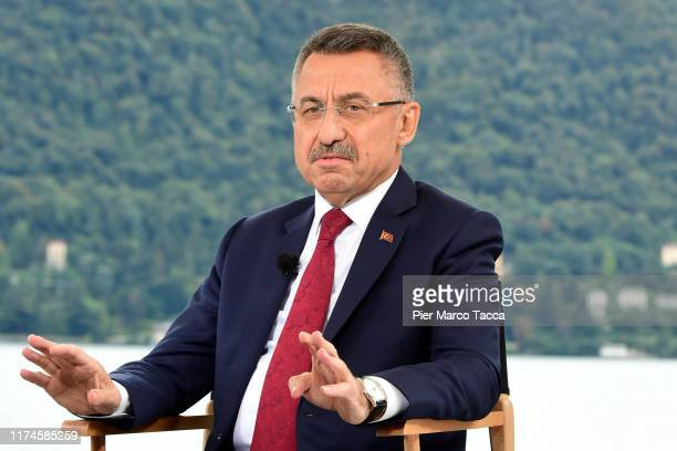"""Fuat Oktay Vice President of Turkeyand attends the Ambrosetti International Economic Forum 2019 """"Lo scenario dell'Economia e della Finanza"""" on..."""