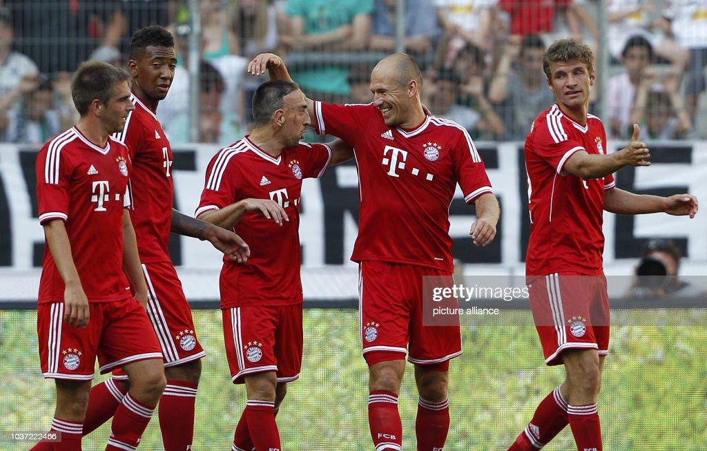 Borussia Mönchengladbach - FC Bayern München am im ...