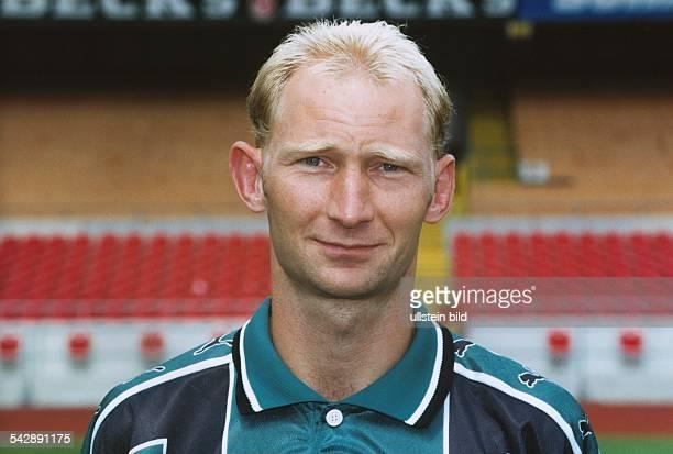 Fußballspieler Dieter Eilts Aufgenommen Juli 1999