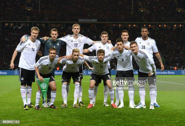 FIFA FußballWeltmeisterschaft Brasilien 2014 Qualifikation Gruppe C Fussball International WM Qualifikation 2014 Deutschland Schweden Teamfoto GER...