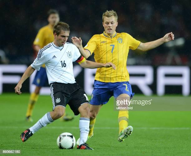 FIFA FußballWeltmeisterschaft Brasilien 2014 Qualifikation Gruppe C Fussball International WM Qualifikation 2014 Deutschland Schweden Philipp Lahm...