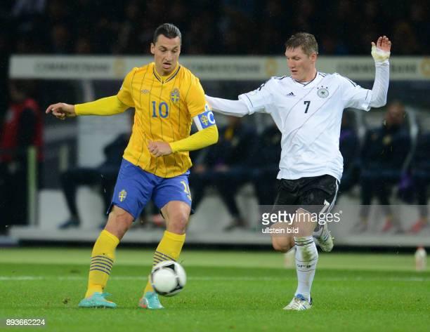 FIFA FußballWeltmeisterschaft Brasilien 2014 Qualifikation Gruppe C Fussball International WM Qualifikation 2014 Deutschland Schweden Zlatan...