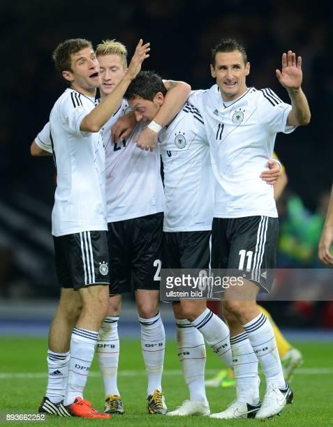FIFA FußballWeltmeisterschaft Brasilien 2014 Qualifikation Gruppe C Fussball International WM Qualifikation 2014 Deutschland Schweden 0 mit Thomas...