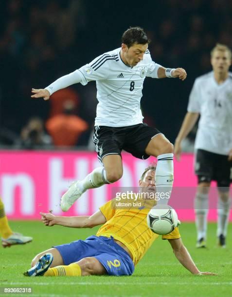 FIFA FußballWeltmeisterschaft Brasilien 2014 Qualifikation Gruppe C Fussball International WM Qualifikation 2014 Deutschland Schweden Mesut Oezil...