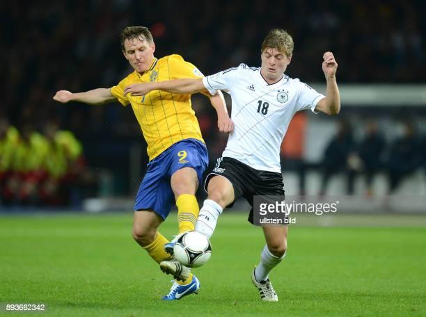 FIFA FußballWeltmeisterschaft Brasilien 2014 Qualifikation Gruppe C Fussball International WM Qualifikation 2014 Deutschland Schweden Kim Kaellstroem...