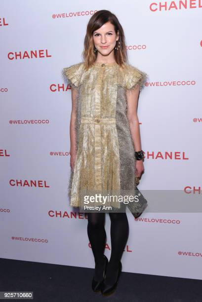 Fuchsia Sumner attends Chanel Party to Celebrate the Chanel Beauty House and @WELOVECOCO on February 28 2018 in Los Angeles California