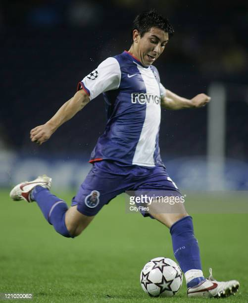 Fucile during the Champions league Group G matcj between FC Porto and SV Hamburg
