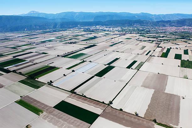 Fucino, In Abruzzo, Aerial View Wall Art