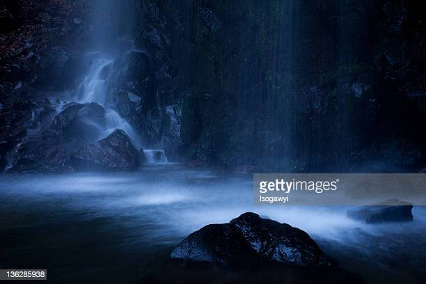 fudo-falls - isogawyi stock pictures, royalty-free photos & images