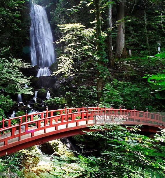 fudou waterfall - 八幡平市 ストックフォトと画像