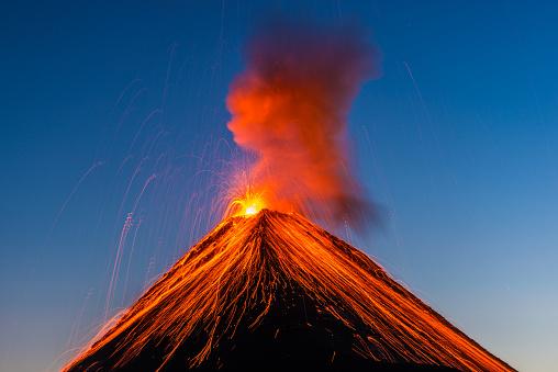 Fuego volcano eruption 858018608