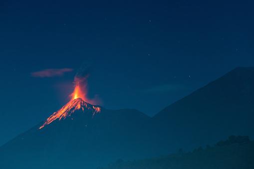 Fuego volcano eruption 908478160