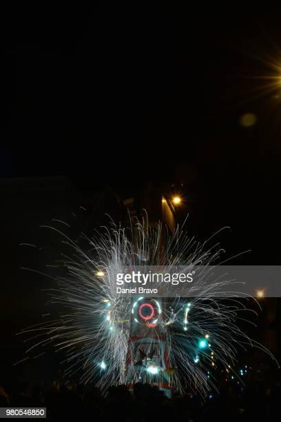 fuegos artificiales - daniel funke stock-fotos und bilder