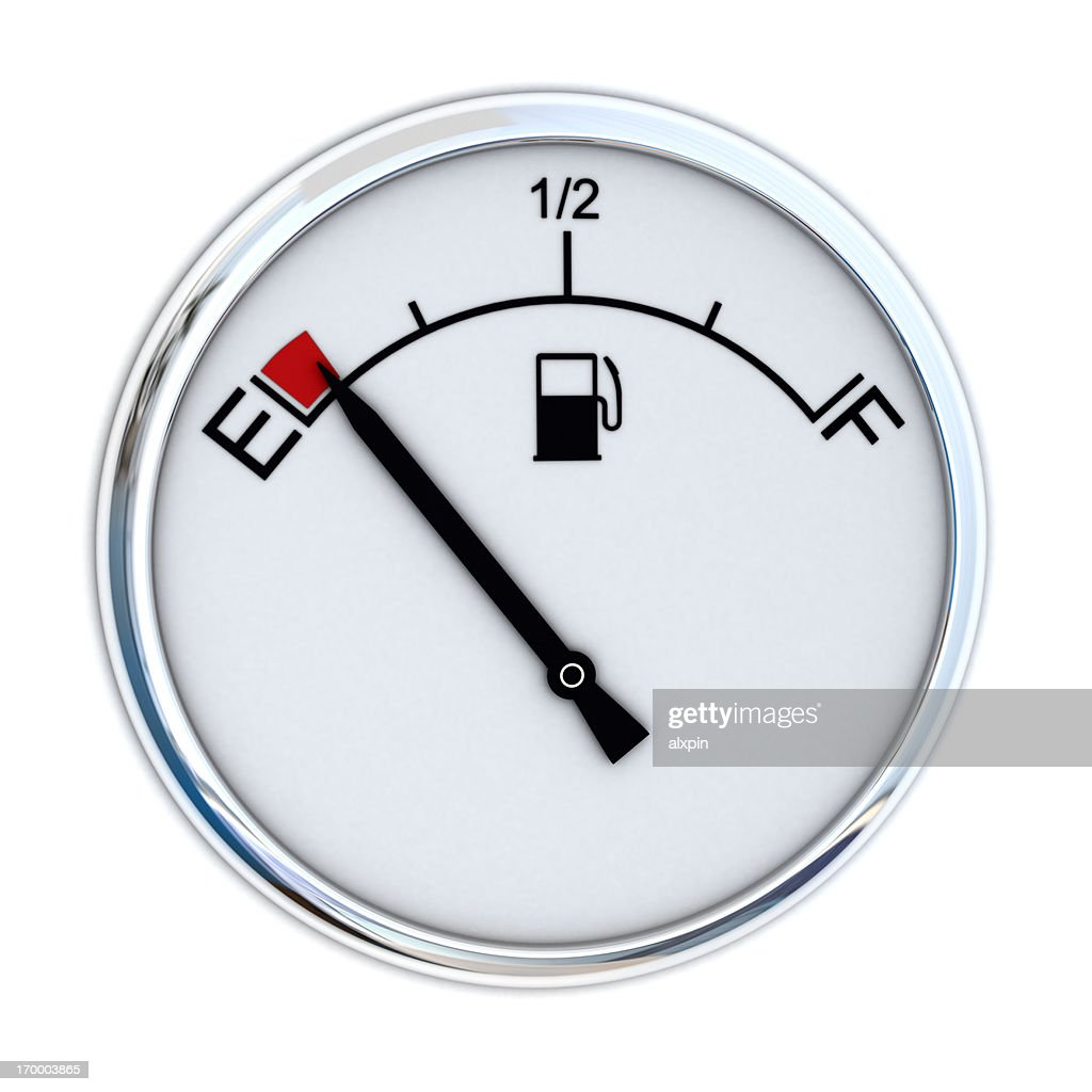 Fuel Gauge : Stock Photo