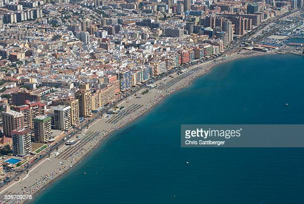 fuengirola and the mediterranean coast - fuengirola stock photos and pictures