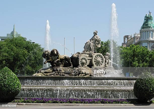Fuente de Cibelles in Madrid