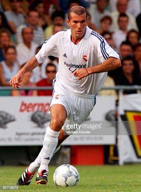ABSCHIEDSSPIEL fuer Juan Antonio SAMARANCH Lausanne LAUSANNE SPORTS REAL MADRID 12 Zinedine ZIDANE/Real Madrid