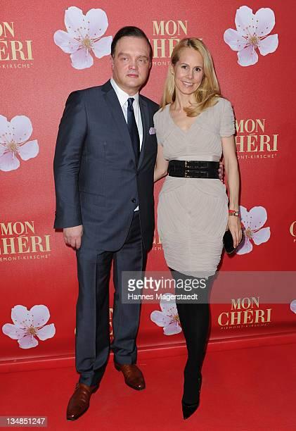 Fuerst Alexander zu SchaumburgLippe and his wife NadjaAnna Fuerstin zu SchaumburgLippe attend the 'Mon Cheri Barbara Day' Charityevent at...