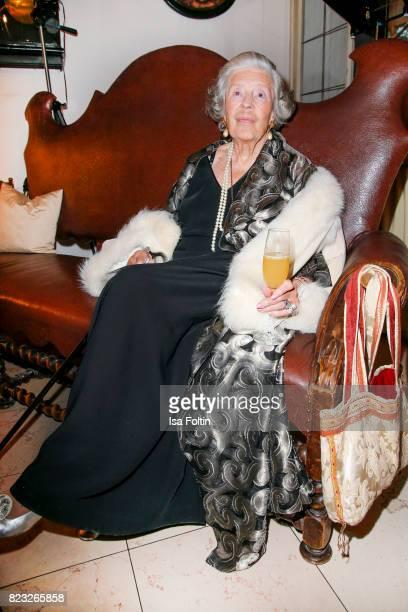 Fuerstin 'Manni' Marianne SaynWittgensteinSayn during the International Salzburg Association Gala on July 26 2017 in Salzburg Austria