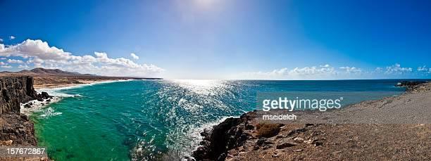 Costa de isla de Fuerteventura (El Cotillo) Panorama XXL