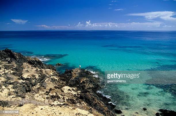 Paisaje marino isla de Fuerteventura