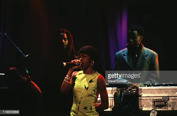 Fugees during Giorgio Armani Party at Lexington Armory in New York City New York United States