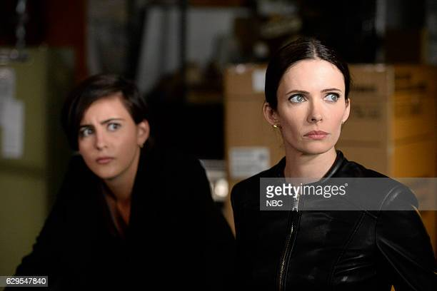 GRIMM 'Fugitive' Episode 601 Pictured Jacqueline Toboni as Trubel Bitsie Tulloch as Juliette Silverton