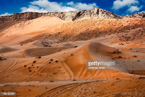 Fujairah sand dunes
