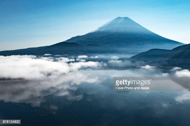Fuji and Lake Motosu
