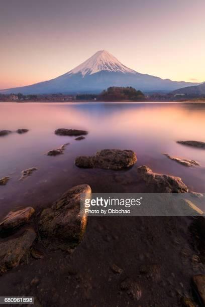 Fuji evening