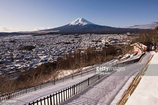 Fuji from above