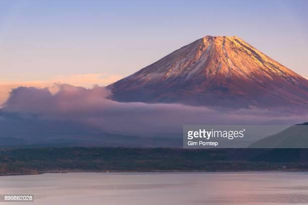 Fuji from lake motosu