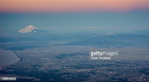 Fuji from the air