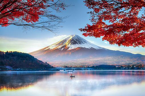 Fuji Mountain in Autumn - gettyimageskorea