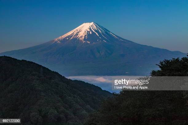 Fuji on the sea of clouds