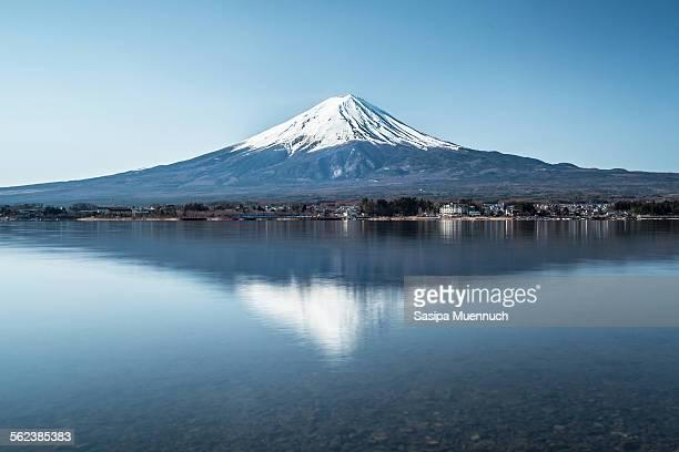 Fuji reflection