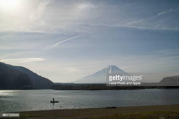 Fuji spring scenery