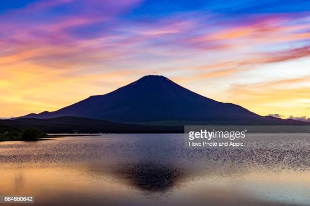 Fuji view at Lake Yamanaka