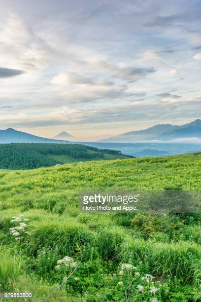 Fuji view from Kirigamine plateau