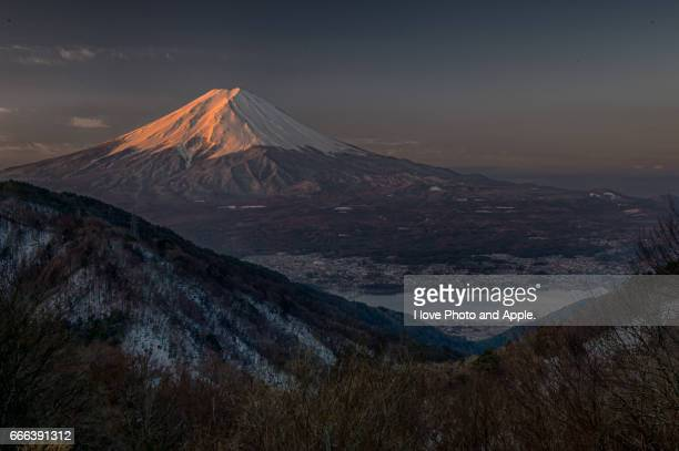 Fuji view from Misaka Pass