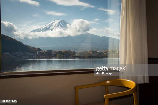 Fuji view from the window