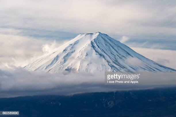Fuji winter scenery