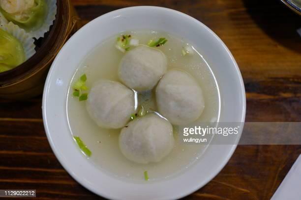 Fujian street food: saltwater eel meatball