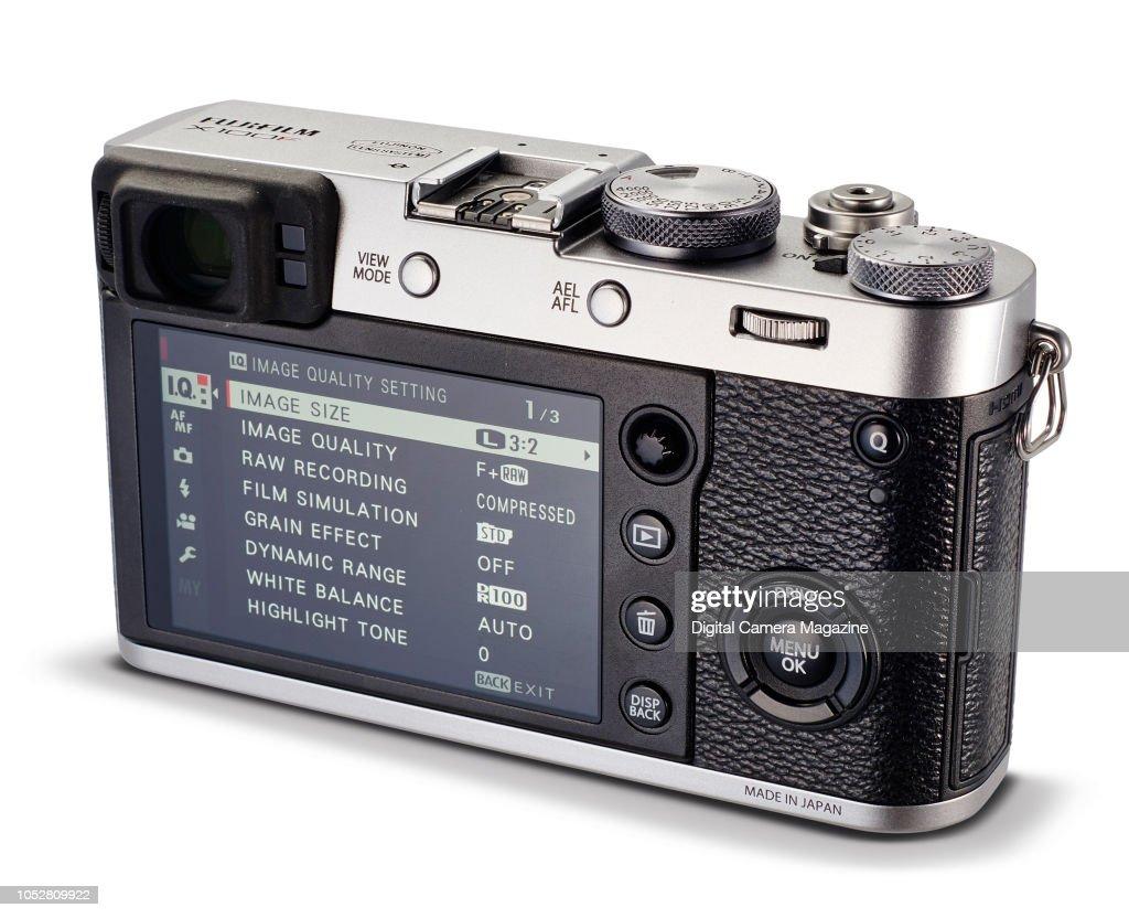 A Fujifilm X100F compact system digital camera, taken on