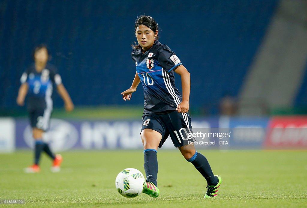 Japan v USA: Group D - FIFA U-17 Women's World Cup Jordan 2016 : News Photo