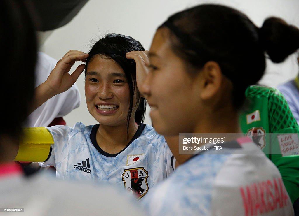 Spain v Japan: Semi Final - FIFA U-17 Women's World Cup Jordan 2016 : News Photo