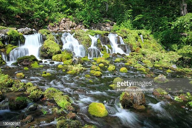 Fukidashi park, Hokkaido Prefecture, Japan