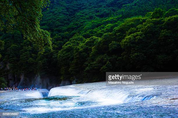 fukiware falls - gunma - fotografias e filmes do acervo